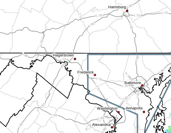 alert map